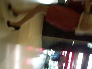 Asian woman upskirt