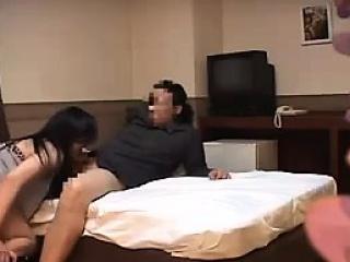 Hot asian amateur blowjob