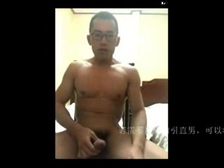 Chinese muscle hunk webcam 002